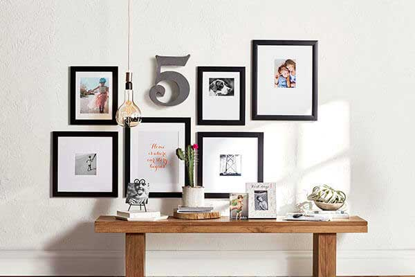 Pick A Variety Of Photos From Family To Fido Decorate Your Wall With