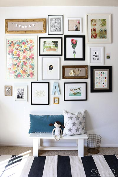 85 Creative Gallery Wall Ideas and Photos for 2018 | Shutterfly