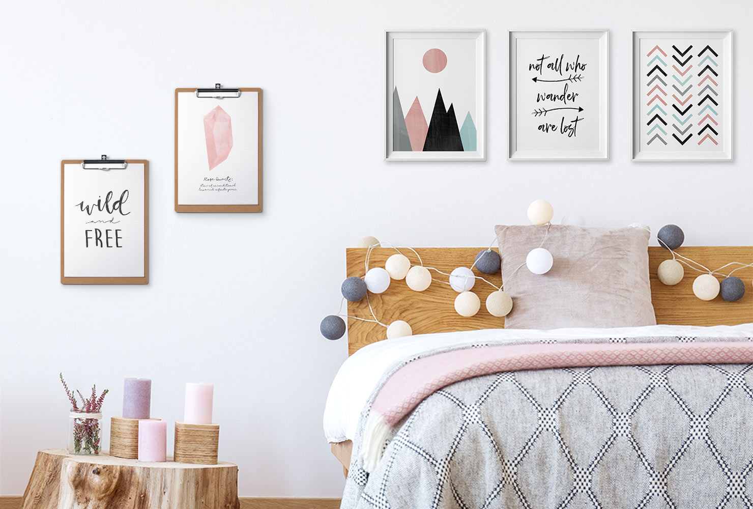 diy modern bedroom decor