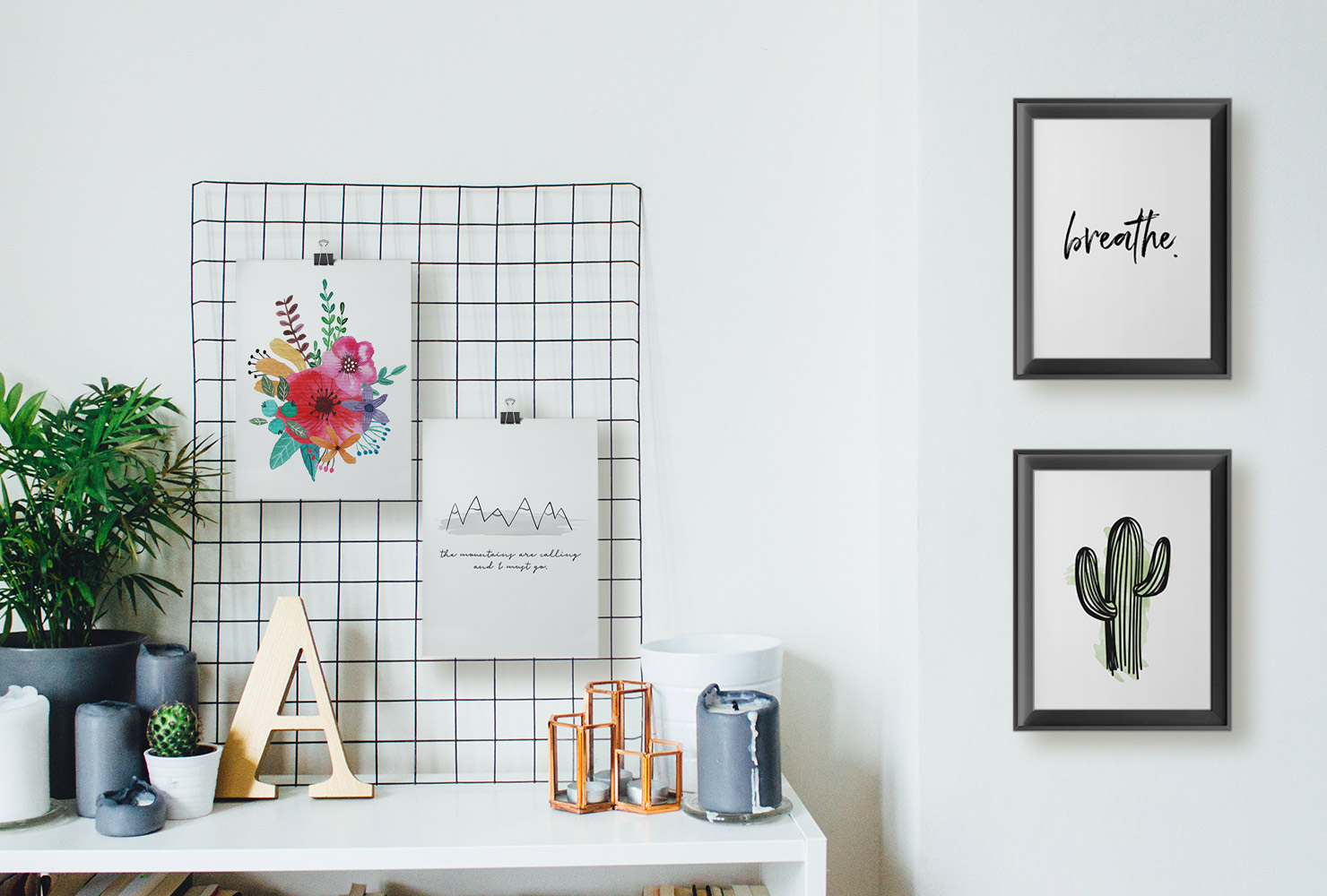 25 Unique DIY Wall Art Ideas (With Printables) | Shutterfly