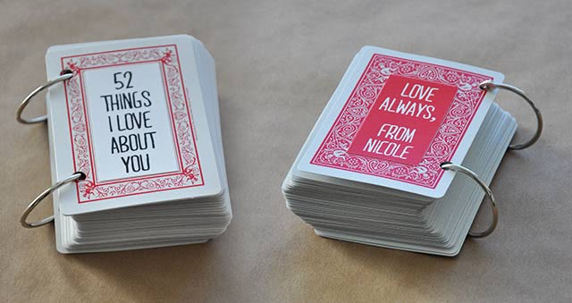 52 things cards