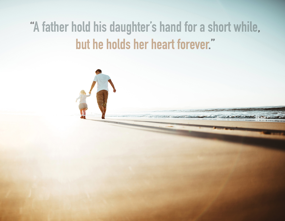 dad and daughter images with quotes always together