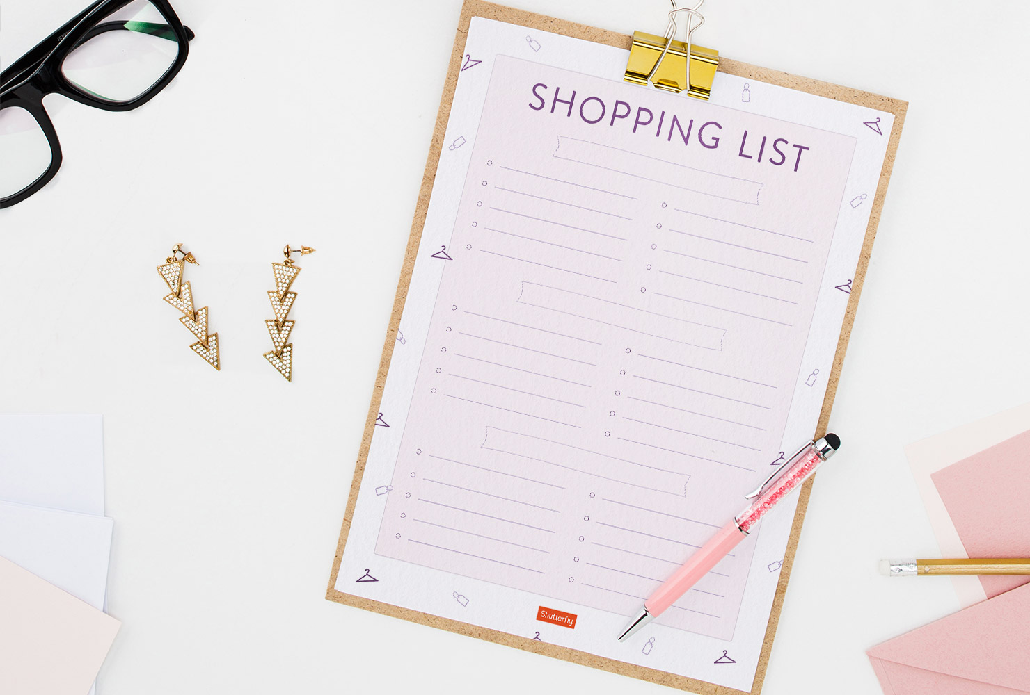 Free Printable To Do List shopping list