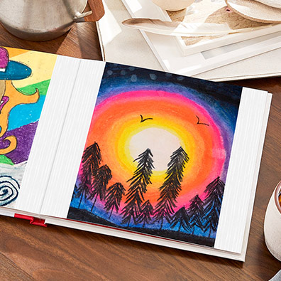Make Father's Day Gifts With Kids' Artwork